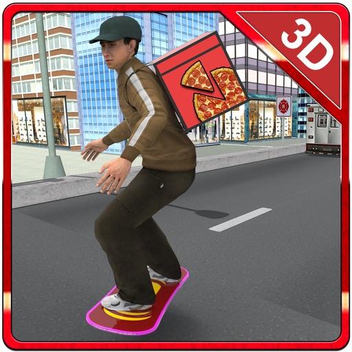Baixar entrega de pizza Skate - Andar a placa de velocidade e de pizza jogo emulador menino para iOS