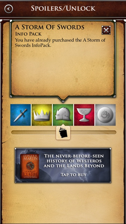 George R. R. Martin's A World of Ice and Fire – A Game of Thrones Guide screenshot-4
