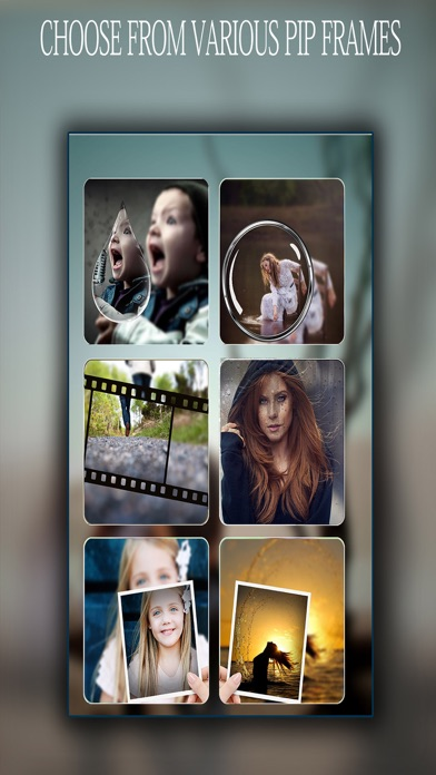 Pip Camera Art Effects - Photo To Canvas Frames & Layout Maker screenshot two