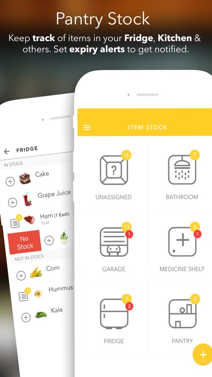Grocery King – Shopping List, Recipes & Meal Plans app image