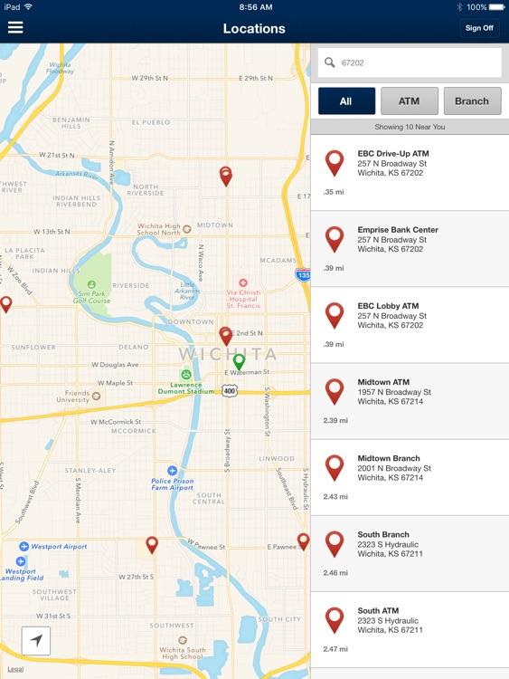 Emprise Bank Mobile for iPad screenshot-4