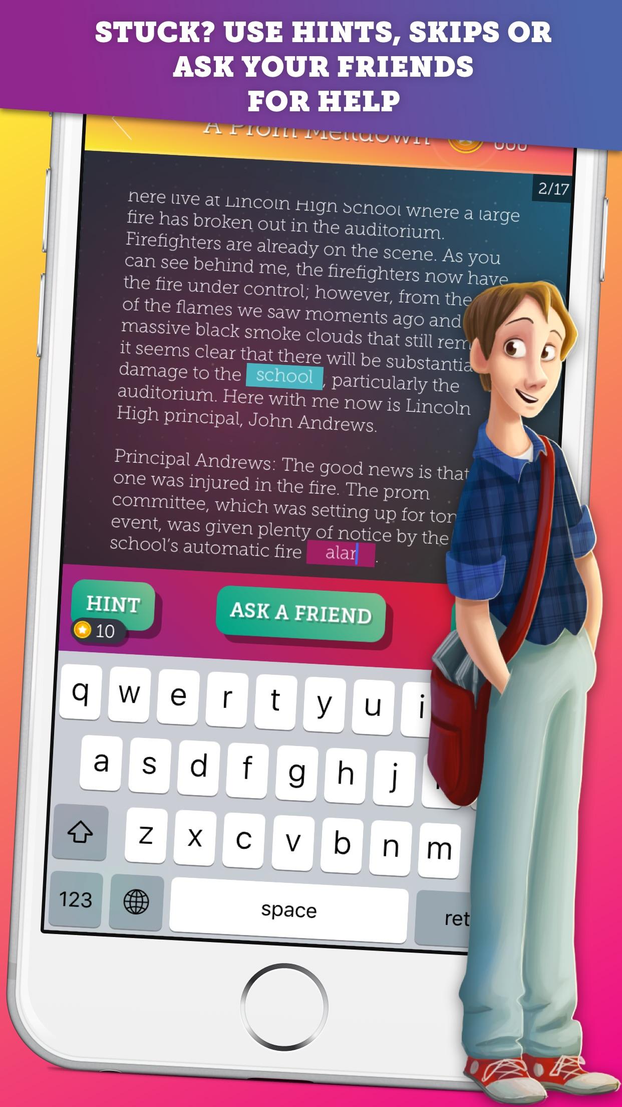 Love Story High School - A Mean Girls vs Teen Superstar Dating Adventure Game Screenshot