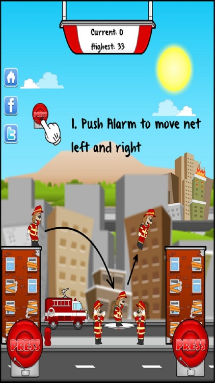 Ladder Mania!™ - Fireman Rescue screenshot-3