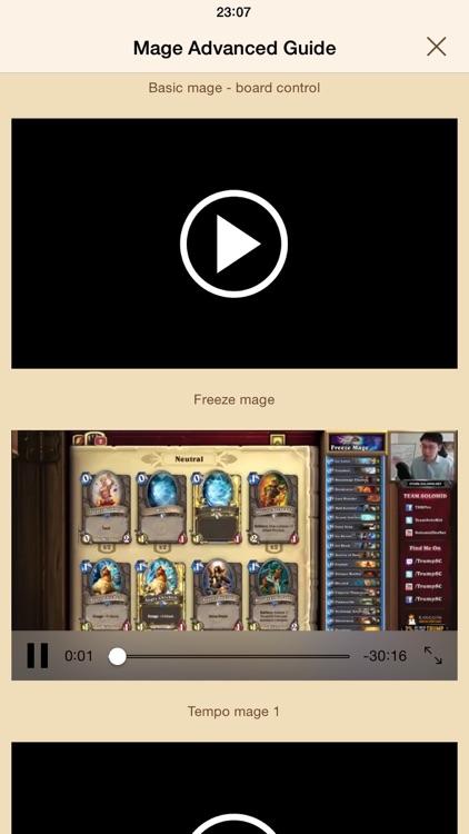Hearth Guide - tips & tricks for Hearthstone screenshot-3