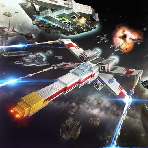 Ego Wars Free . Iron SpaceShip Combat Simulator