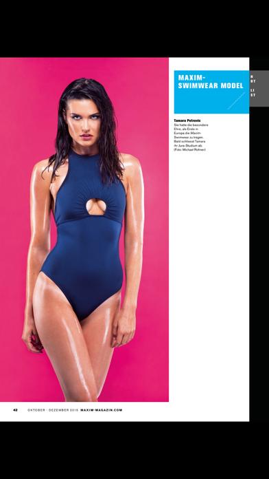 Maxim Deutschland, Schweiz Screenshot