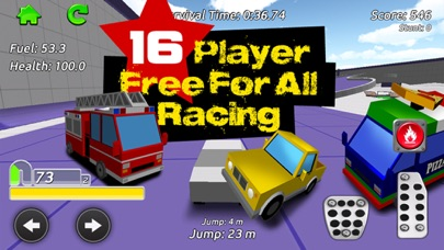 Stunt Car Racing - Multiplayerのおすすめ画像1