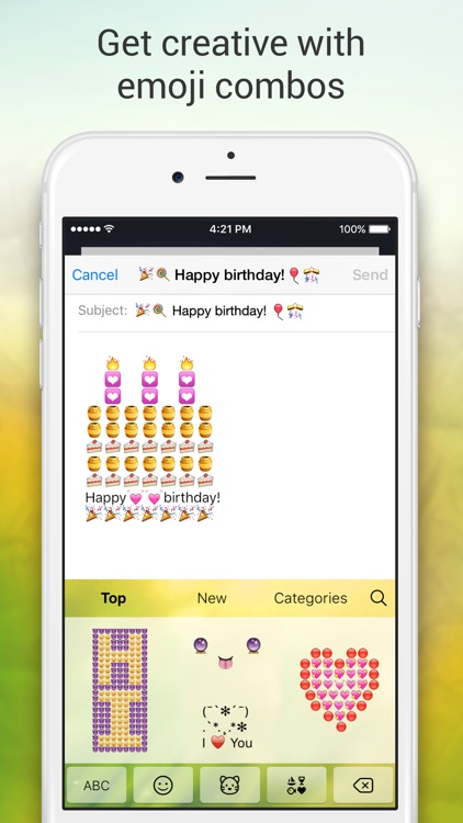 Emoji Keyboard for Me - Keyboard Themes & Emojis screenshot-4