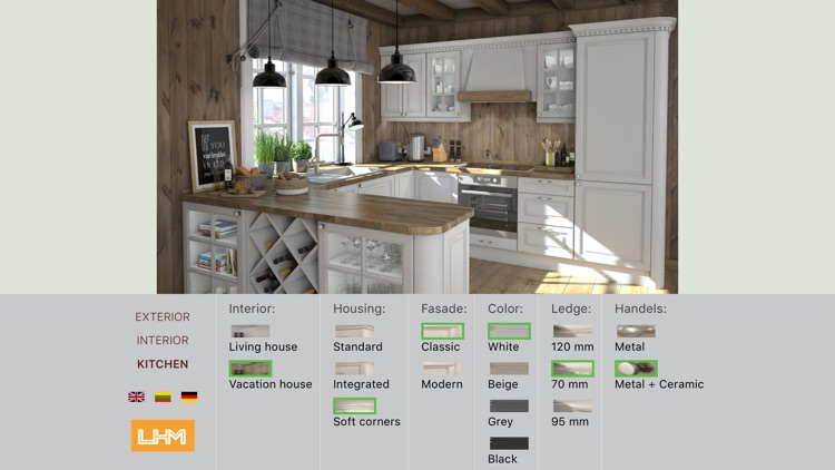Lhm House Kitchen Configurator By Lukas Liesis