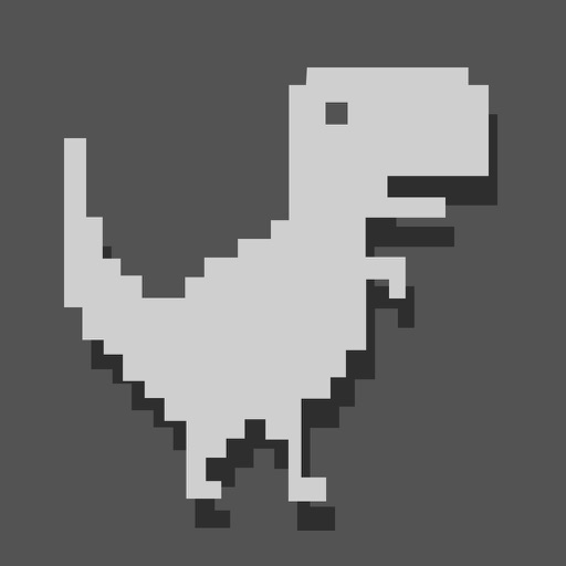 Dinosaur Widget Jumping Steve: 8bit Game free software for iPhone and iPad