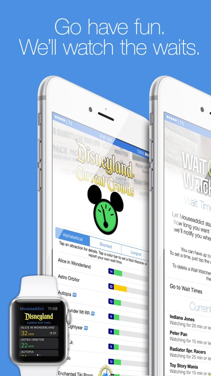 Mouseaddict Wait Times for Disneyland Resort