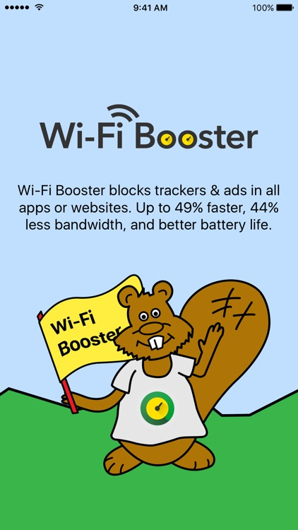 Wi-Fi Booster - Block ads and browse faster