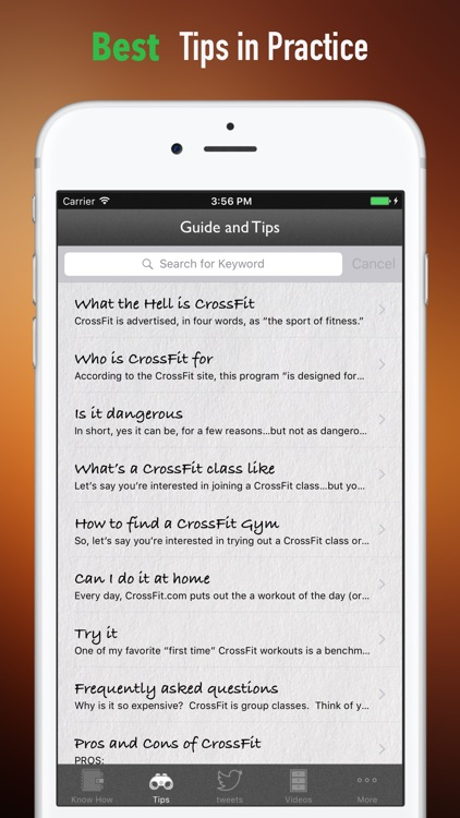 Crossfit Workouts 101|Guide and Tutorial screenshot-3