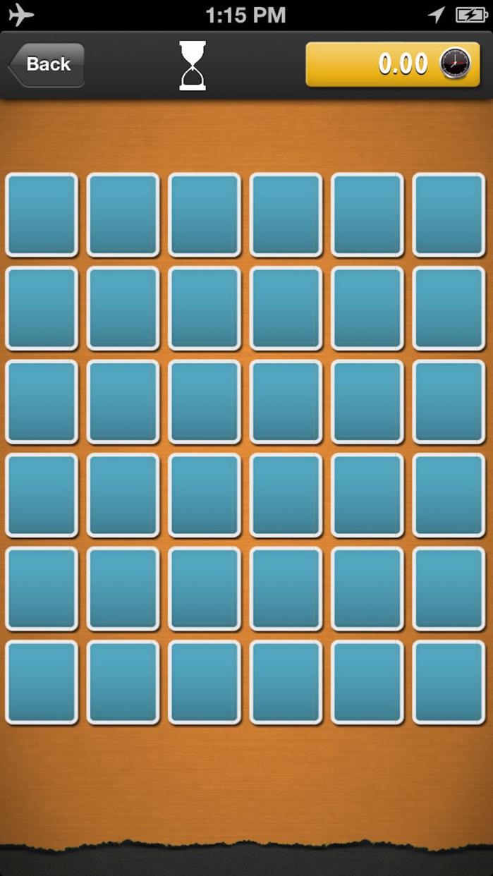 Memory Matches 2 Screenshot
