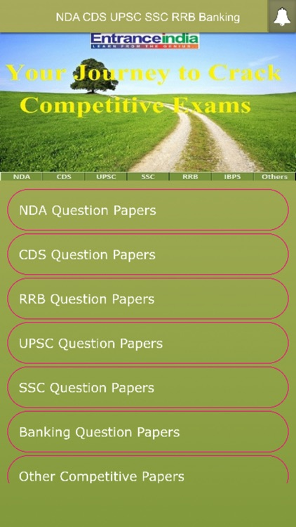 NDA CDS UPSC SSC RRB IBPS Exam Papers by FORWARDBRAIN