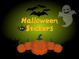 Enjoy this free sample pack of Halloween stickers for your iMessage conversations