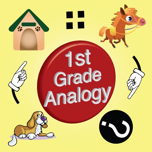 1st Grade Picture Analogy for classrooms and home schools