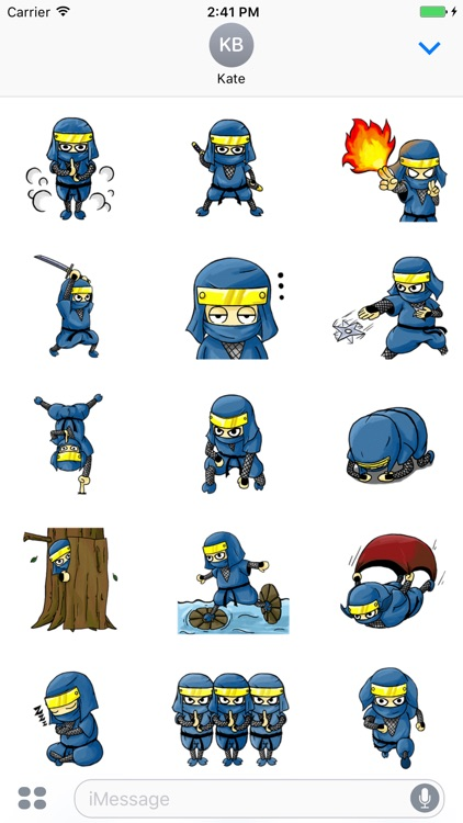 Mystic Ninja - Cute stickers for iMessage