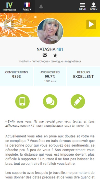 Screenshot #3 pour Idealvoyance