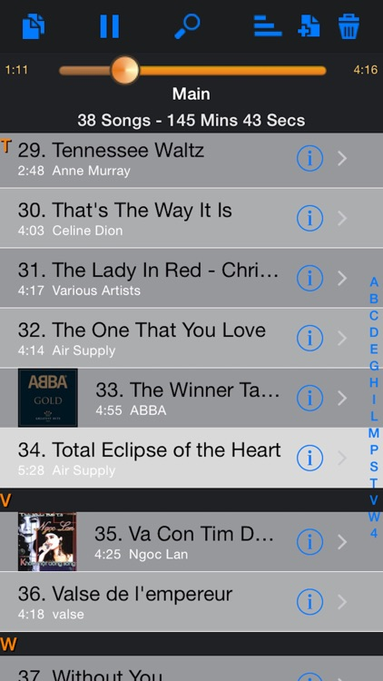 Karaoke Easy Listening Player screenshot-3