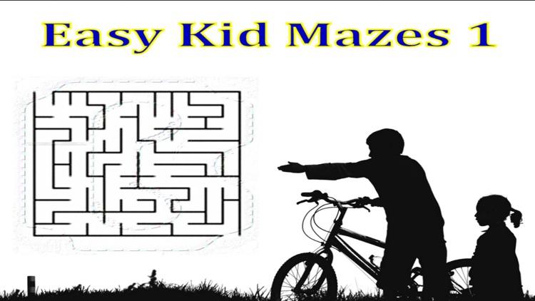 Easy Kid Mazes 1