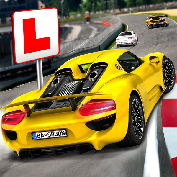 Race Driving School Car Racing Driver License Test