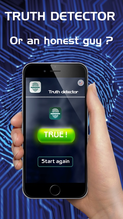 Lie Detector - Truth Detector Fake Test Prank App screenshot-3