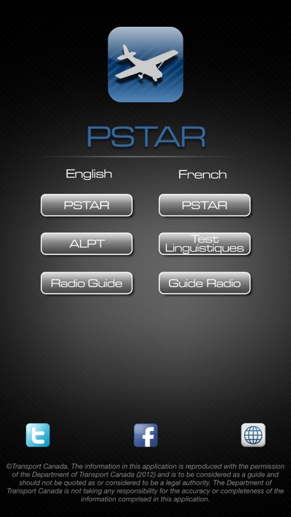 PSTAR – Transport Canada PSTAR exam, Aviation Language Proficiency Test and Restricted Operator Certificate with Aeronautical Qualification