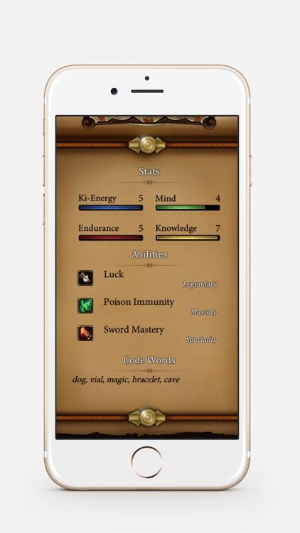 Hwarang & Kumiho Gamebook RPG screenshot-3