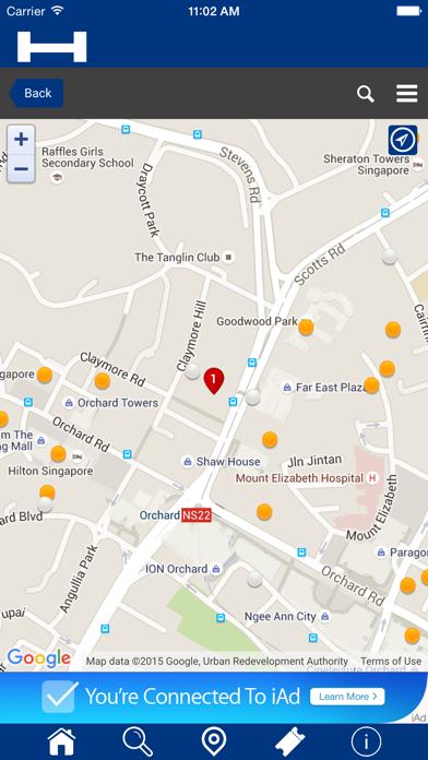 Abu Dhabi Hoteles + Compara y Reserva de hotel para esta noche con el mapa y viajes turísticosCaptura de pantalla de5