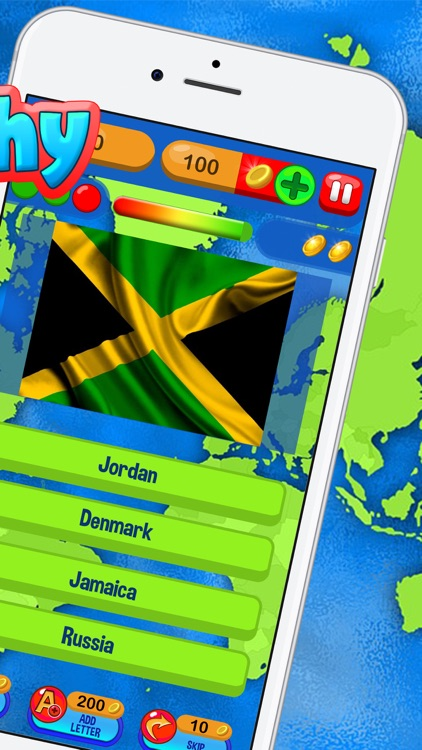 Geography Trivia Quiz – Best Free Education Game