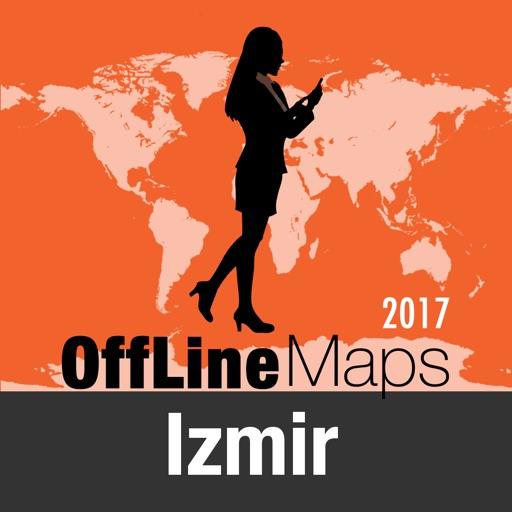 Esmirna mapa offline y guía de viaje
