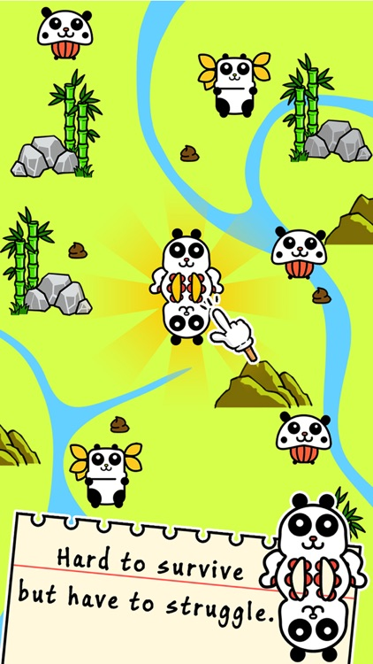 Panda Evolution - Halloween Clicker Games