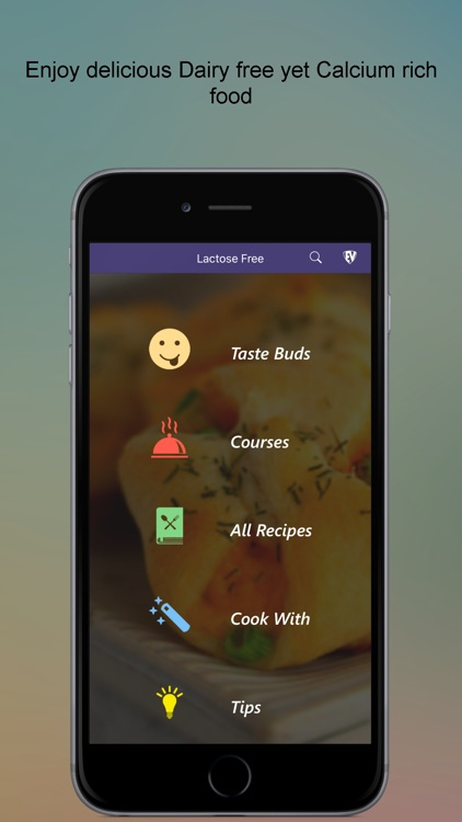 Lactose Free SMART Recipes screenshot-0