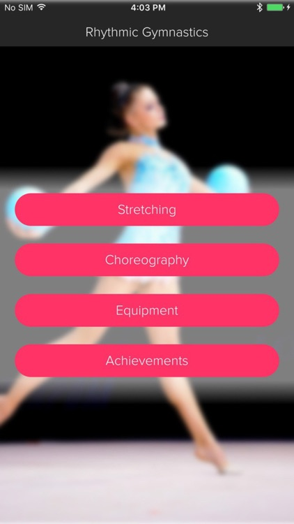 Rhythmic Gymnastics -  Workout and Warmup