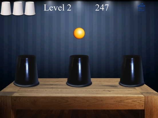 Whack The Cup Pro - find the hidden ball-ipad-1