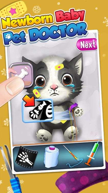 My Newborn Baby Pet Doctor, Care & Salon Kid Games screenshot-3