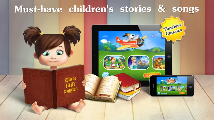 Early reading kids books - reading toddler games