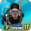 Scuba Diving Fun – Swim with sharks in deep sea 3D