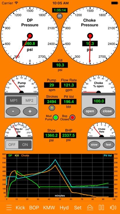 Well Control Simulator 2 screenshot-3