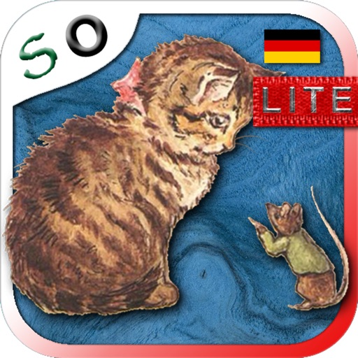 The Story of Miss Moppet in German LITE