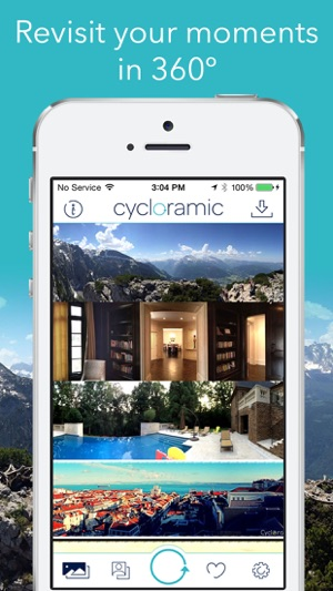 Cycloramic For Iphone Se55s On The App Store