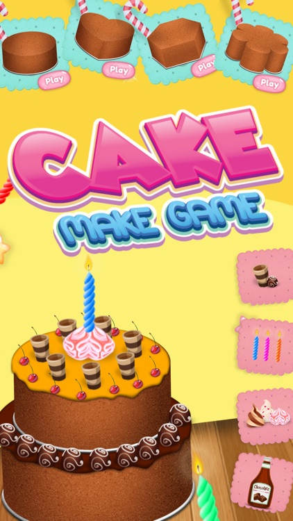 Cake Maker Birthday Free Game