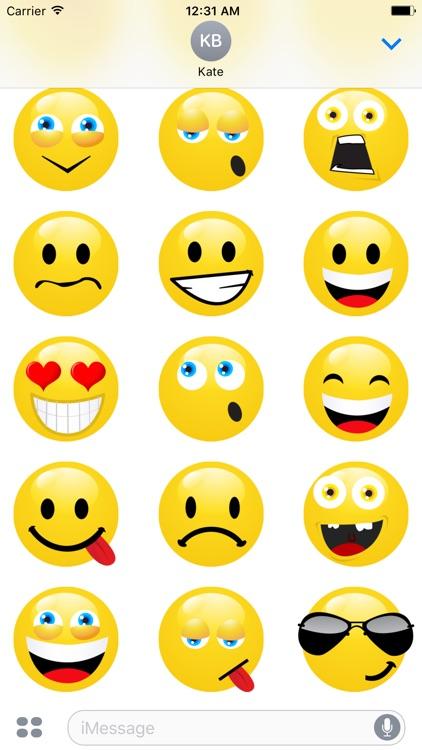 Emoticons Stickers 3