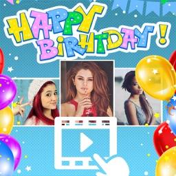 Happy birthday videos - create greeting cards