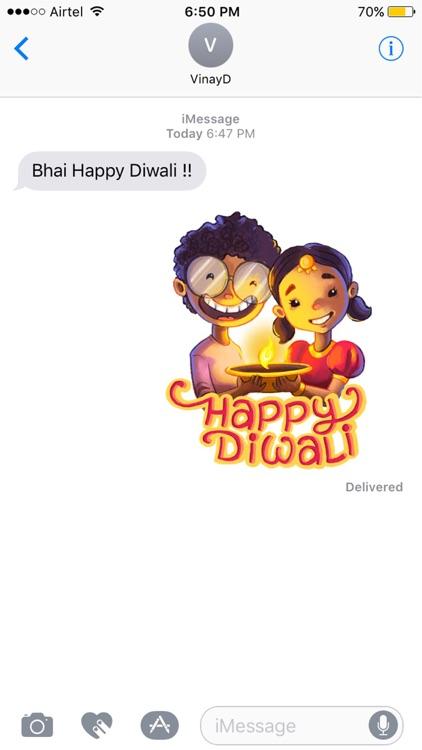 Mastiwali Diwali Stickers
