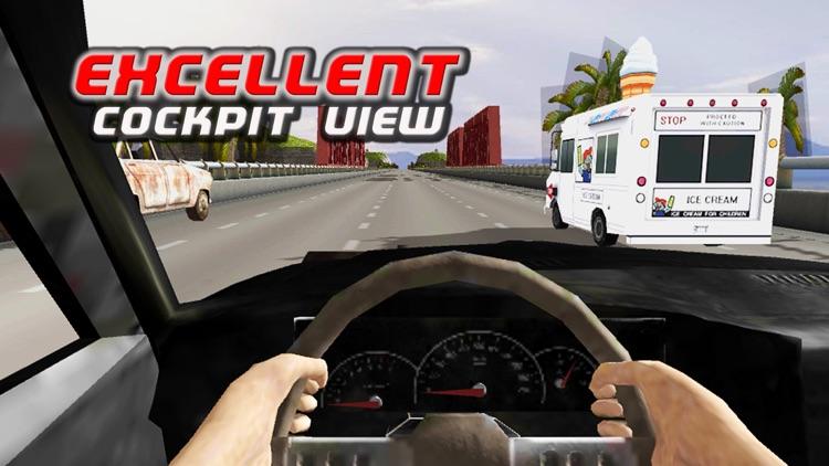 Summer Traffic Car Racing screenshot-3