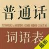 普通话词语表-普通话水平测试