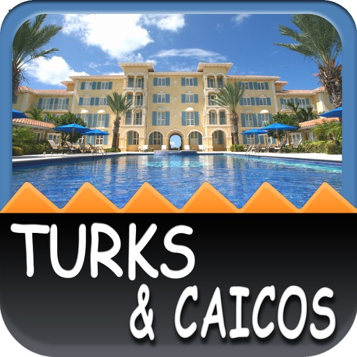 Turks and Caicos Offline Map Travel Guide