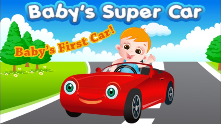 Baby Car Driving App 4 Toddler screenshot-4